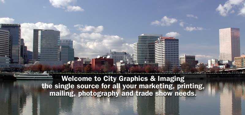 Welcome to City Graphics and Imaging the single source for all your marketing, printing, mailing, photography, and trade show  needs.